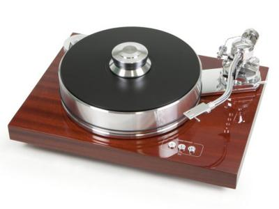 Project Audio Highend Turntable With Single-Pivot Tonearm  Signature 10(n/c) Mahogany - PJ50438194
