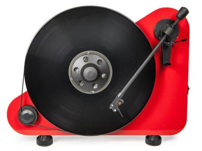 Project Audio Vertical wireless Plug & Play turntable - VT-E BT - Red - PJ71651091