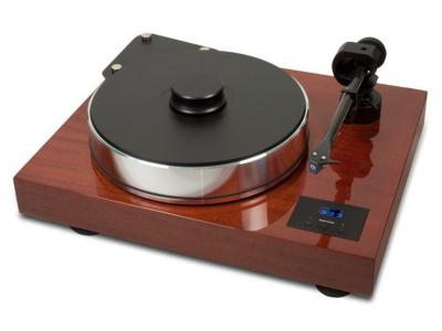 """Project Audio Highend turntable with 10"""" tonearm - Xtension 10 Evolution - Mahogany- PJ35829467"""
