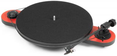 Project Audio turntable with maximum simplicity & outstanding sound quality - ELEMENTAL (OM5e) - BLACK/SILVER - PJ50439146