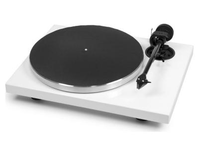 Project Audio Manual turntable with 8.6 cc Evo tonearm & 2M Silver - 1XPRESSION CARBON CLASSIC  (2M-Silver) - WHITE - PJ50439085