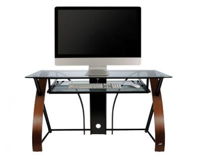Bell'O Curved Wood Computer Desk CD8841