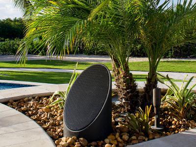 Coastal Source Outdoor Speakers 2-Way Ellipse Bollards
