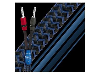 Audioquest 12 ft. Star-Quad Series Type 4 Speaker Cables - Star-Quad 12 ft. pair