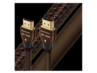 Audioquest HDMI Chocolate Digital Audio/Video Cables with Ethernet- HCh 8.0m