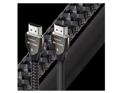 Audioquest HDMI Carbon Digital Audio/Video Cables with Ethernet - HCarbon 1.0m