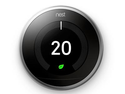 Nest Easy Temperature Control Works with Alexa - T3007EF (S)