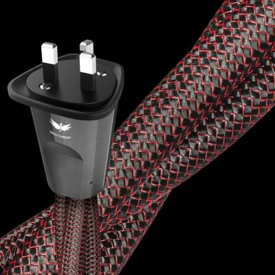 Audioquest Strom Series 3 Meter High Current Low-Z Or Noise-Dissipation 3-Pole AC Power Cable - Firebird HC 3m