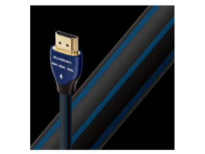 Audioquest 0.75 Meter 4K-8K 18Gbps HDMI Cable - Bluebarry 0.75m