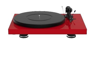 Project Audio Debut Carbon EVO Turntable  in High Gloss Red - PJ97825957