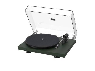 Project Audio Debut Carbon EVO Turntable  in Satin Fir Green - PJ97826015